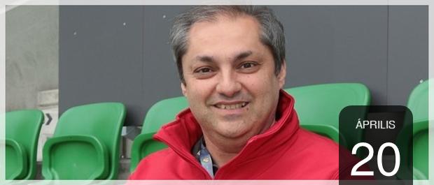 2020.04.20. Hajdú B. István, sportriporter